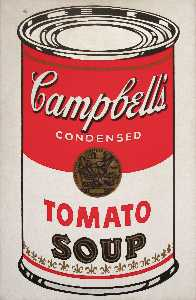 Andy Warhol - Campbell'S suppe kann ( tomate )