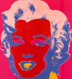 Andy Warhol - Marylin Rot