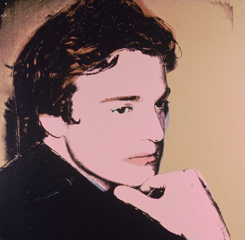 famous painting porträt von jamie wyeth of Andy Warhol