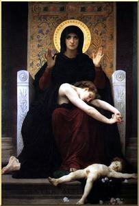 William Adolphe Bouguereau - Virgin of Consolation
