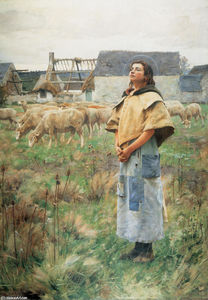 Charles Sprague Pearce - Sainte-Geneviève