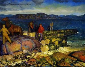 George Wesley Bellows - Dock Builders