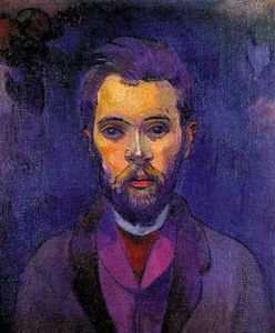 Paul Gauguin - Porträt von William Molard