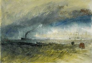 William Turner - Venedig vom Laguna