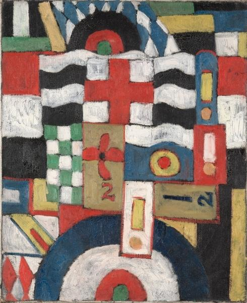 famous painting Militär of Marsden Hartley