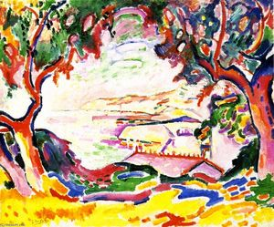 Georges Braque - Landschaft bei L Estaque