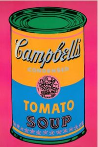 Andy Warhol - Campbells Suppe Rosa