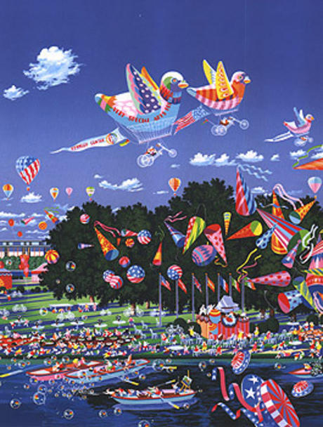 famous painting sehr speziell feier of Hiro Yamagata