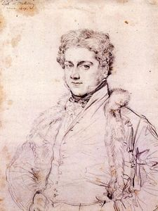 Jean Auguste Dominique Ingres - charles robert cockerell