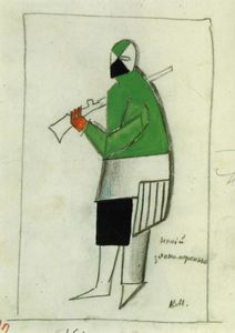 Kazimir Severinovich Malevich - Jemand Wicked