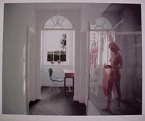 famous painting Ein mirrorical rückkehr of Richard Hamilton