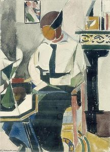 Theo Van Doesburg - Lena in interieur