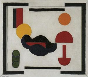 Theo Van Doesburg - Still Leben ( Komposition V )