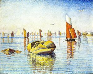 Paul Signac - Morning Calm, Concarneau, Opus 219 (Larghetto)