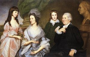 Charles Willson Peale - Robert Goldsborough and Familie
