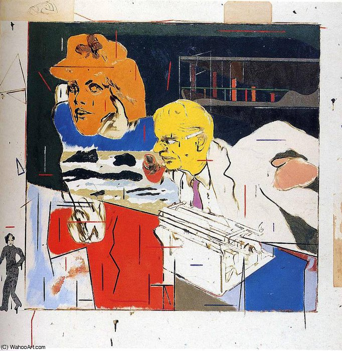 famous painting ohne titel 9355   of Andy Warhol