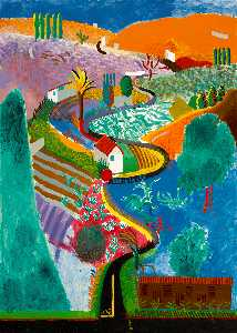 David Hockney - Nichols schlucht