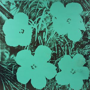 Andy Warhol - Ten-Foot Blumen