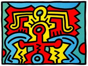 Keith Haring - ohne titel 750