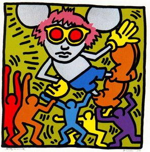 Keith Haring - ohne titel 731