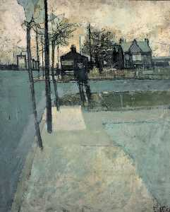 David Hockney - Bolton kreuzung , eccleshill