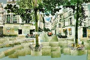 David Hockney - Platz furstenberg Paris bekannt