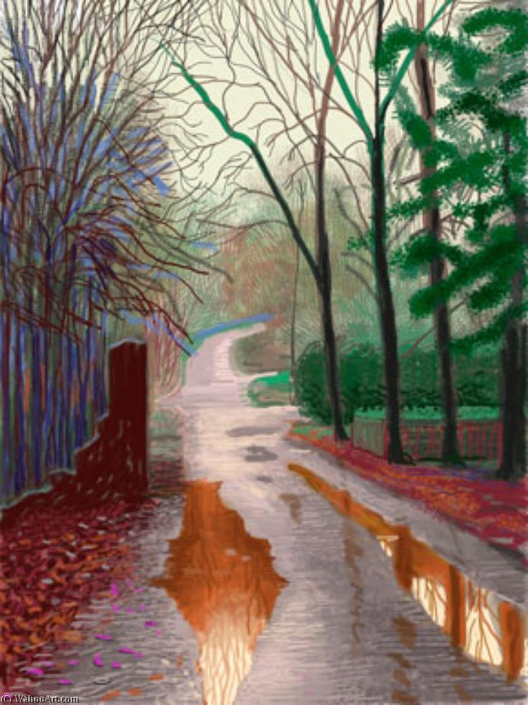 famous painting 29  Dezember  of David Hockney