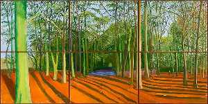 David Hockney - Woods und november