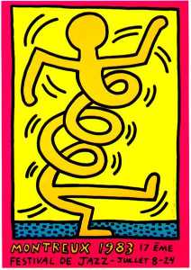 Keith Haring - Montreux