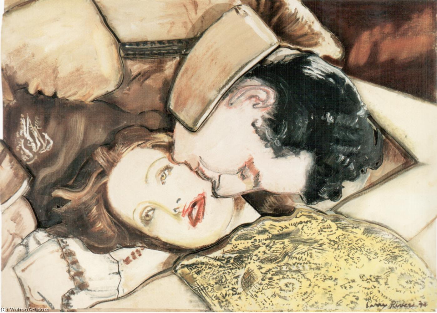 famous painting gilbert und garbo of Larry Rivers