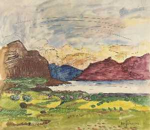 William Henry Johnson - volda fjord , Norwegen